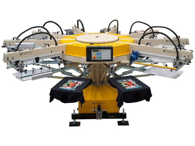 Printing Tees Compact CX Series Machine Blue Dolphin