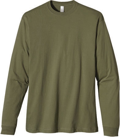 EC1500 Men's Classic Long Sleeve Organic Tee
