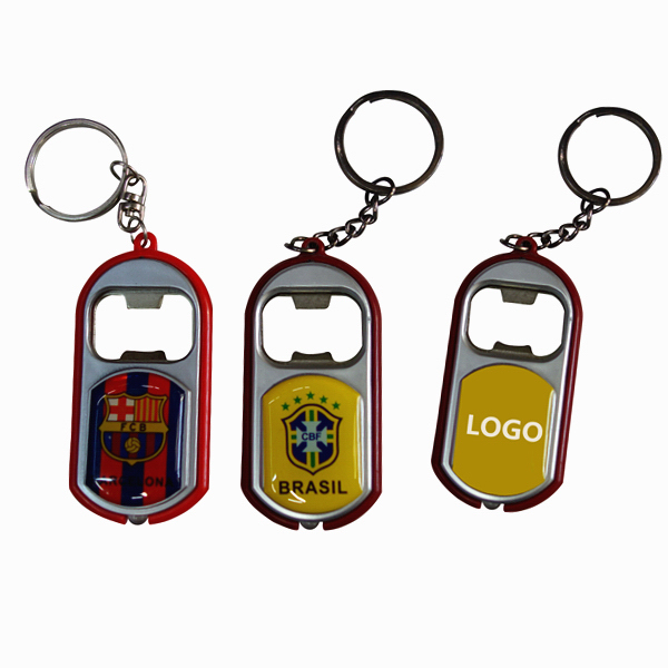 Fans Key Ring with Beer Bottle Opener
